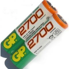 Baterie acumulator GP Ni-MH AA R6 2700, set 2buc.