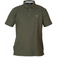 Tricou Fox Collection Polo Green&Silver, marime XL