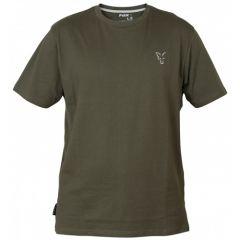 Tricou Fox Collection Green&Silver, marime XL