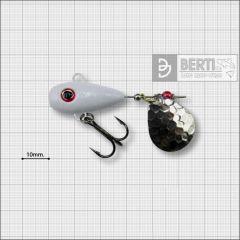 Bertilure Fish Helic Nr.3, culoare Alb, 17gr