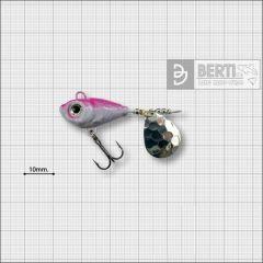 Bertilure Fish Helic Nr.1, culoare Alb-Roz Fluo, 7gr