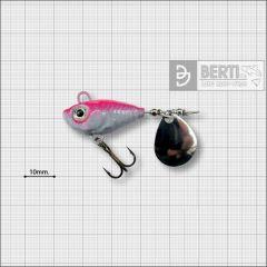 Bertilure Fish Helic Nr.2, culoare Alb-Roz Fluo, 11gr