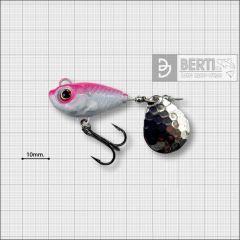 Bertilure Fish Helic Nr.4, culoare Alb-Roz Fluo, 17gr