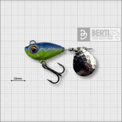 Bertilure Fish Helic Nr.4, culoare Chart.-Blue, 17gr