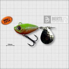 Bertilure Fish Helic Nr.5, culoare Orange Chartreuse, 21g