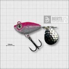 Bertilure Fish Helic Nr.6, culoare Alb-Roz Fluo, 28gr