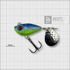 Bertilure Fish Helic Nr.6, culoare Blue-Chartreuse, 28gr