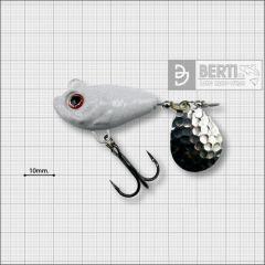 Bertilure Fish Helic Nr.6, culoare Colorado Nichel Alb, 28 grame