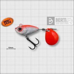 Bertilure Fish Helic Nr.4, culoare Red Back, 17g