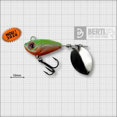 Bertilure Fish Helic Olympic Nickel Nr.3, culoare Orange Chartreuse