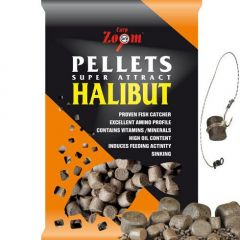 Pelete Carp Zoom Halibut Feeding Pellets 16mm, 800gr