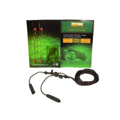 PB Extra Safe Ready Made Heli-Chod Leader 90cm - Weed