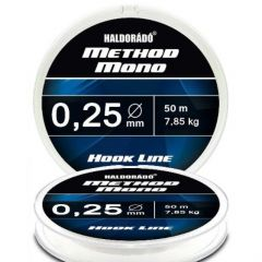 Fir monofilament Haldorado Method Mono Hook Line 0.20mm/5.75kg/50m