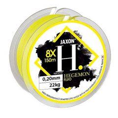 Fir textil Jaxon Hegemon 8X Fluo Yellow 0.08mm/5kg/150m