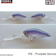 Vobler HMKL Crank 33DR SP(Custom Painted) 3.3cm/3.3g Purple Sava
