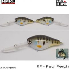 Vobler HMKL Crank 33DR SP(Custom Painted) 3.3cm/3.3g Real Perch