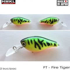 Vobler HMKL Crank 33MR SP(Custom Painted) 3.3cm/3.3g Firetiger