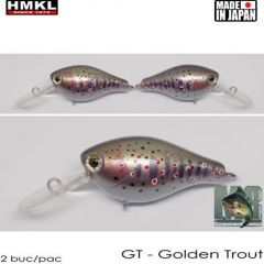 Vobler HMKL Crank 33MR SP(Custom Painted) 3.3cm/3.3g Golden Trout