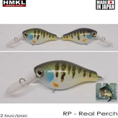 Vobler HMKL Crank 33MR SP(Custom Painted) 3.3cm/3.3g Real Perch