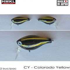 Vobler HMKL Crank 33TR F(Custom Painted) 3.3cm/3.3g Colorado Yellow