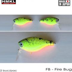 Vobler HMKL Crank 33TR F(Custom Painted) 3.3cm/3.3g Fire Bug