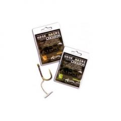 Carlige Korum Hook Hairs With Quickstops nr.6