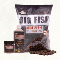 Boilies Dynamite Baits Hot Fish GLM 20mm 1.8kg
