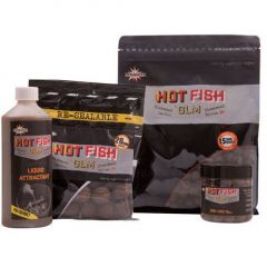 Boilies Dynamite Baits Hot Fish GLM 26mm 350g