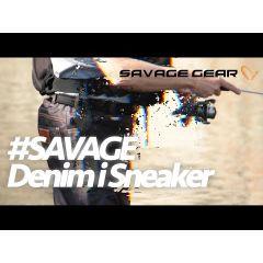 Pantalon Savage Gear Denim Waist Waders Stocking Foot, marime XL