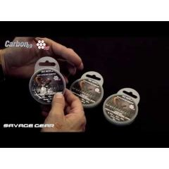Fir metalic Savage Gear Carbon 49 0.60mm/35kg/10m