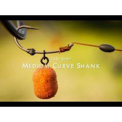 Carlige Carp Spirit Medium Curve Shank(MCS) Nr.10