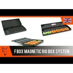 Capac pentru Penar Fox Magnetic Double Rig Box System - Medium