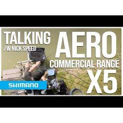 Lanseta feeder Shimano Aero X5 Distance Heavy Power Feeder 4.27m/150g