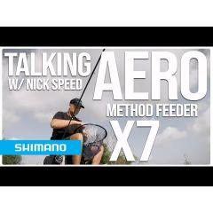 Lanseta feeder Shimano Aero X7 Distance Feeder 3.96m/100g