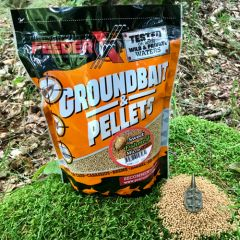 Pelete FeederX Micro 2mm 800g - Sweet Fishmeal