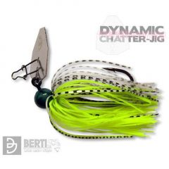 Bertilure Dynamic Chatter-Jig Nr.4/0, 7g culoare Chartreuse Shad
