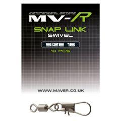 Agrafe + varteje Maver MV-R Snap Link Nr. 16