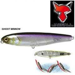 Jackall Bonnie 95, 9.5cm/13gr. Ghost Minnow