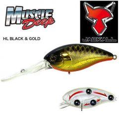 Vobler Jackall Muscle Deep 7+ 5.65cm/13.5gr HL Black Gold
