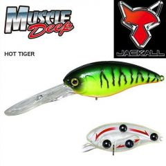 Vobler Jackall Muscle Deep 7+ 5.65cm/13.5gr Hot Tiger