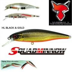 Vobler Jackall Squad Minnow 95 SP 9.5cm/14gr HL Black & Gold