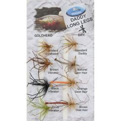 Set Muste Dragon Tackle Daddy Long Legs