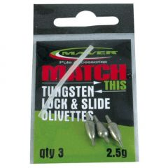 Set plumbi Maver Match This Tungsten Lock & Slide Olivettes 0.6g
