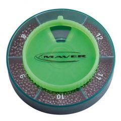 Set plumbi Maver  Elite alice - 5 compartimente