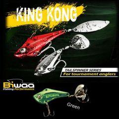Cicada Biwaa King Kong Tailspinner 7gr, culoare Green