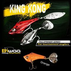 Cicada Biwaa King Kong Tailspinner 7gr, culoare Orange