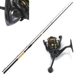 Kit Lanseta Browning Black Magic C-River M 2 3.60m 100g - Mulineta Browning Black Magic 440 FD