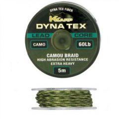 Fir leadcore K-Karp Dynatex 45lbs, 5m - Weed