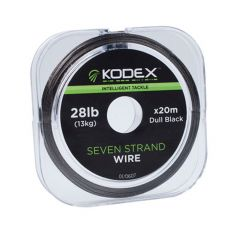 Fir textil Kodex Black 7 Strand Wire 28lb