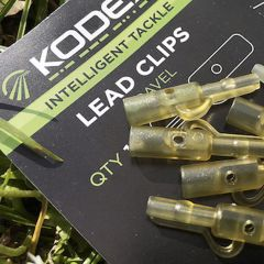 Kodex Lead Clips Silt Black